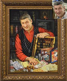 художественные портрет маслом