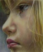 Портрет цветным карандашом, пастель или акрилом