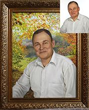 портрет маслом на заказ