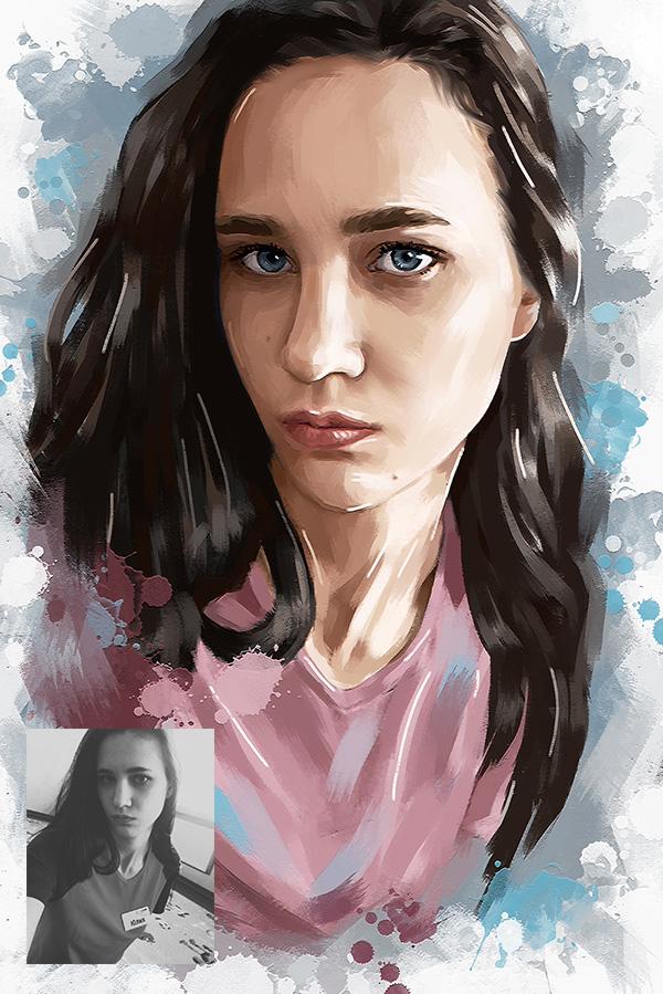 Портрет Фьюжн