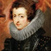Портрет Изабеллы де Бурбон, первой жены Филиппа IV, королевы Испании и Португалии (1629) (Вена, Музей истории искусств)