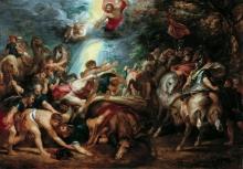 Обращение Савла (1602) (72 х 103) (Вена, Музей Лихтенштейн)