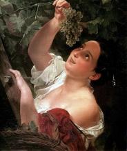 """Картина """"Итальянский полдень"""", Брюллов, 1827"""