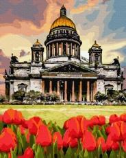 Тюльпаны у Берлинского собора