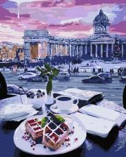 """Картина для росписи по номерам """"Бельгийские вафли"""" 40 х 50 см ATG0020"""