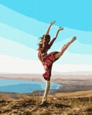 "Картина для росписи по номерам ""Растяжка на природе"" 40 х 50 см BK-GX35686"