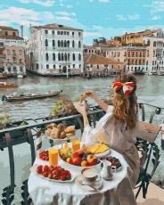 "Картина для росписи по номерам ""Доброе утро в Венеции"" 40 х 50 см BK-GX36329"