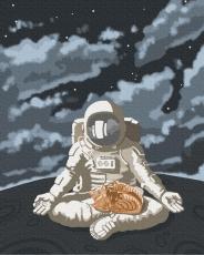 """Картина для росписи по номерам """"Космическое спокойствие"""" 40 х 50 см BRM39760"""
