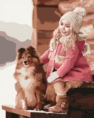 Прогулка с собачкой