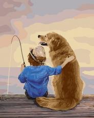 Рыбалка с другом