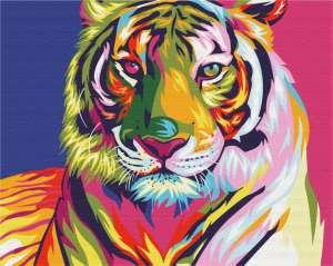Тигр поп арт