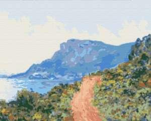 Горная дорога в Монако. Клод Моне